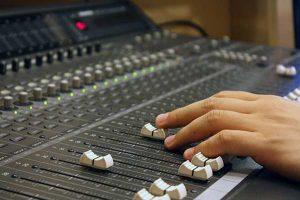 Mischpult für Audios